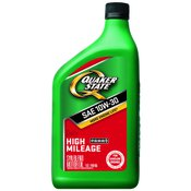 Quaker State High Mileage Motor Oil, 10W-30, 1 qt.