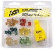 Cooper Bussmann Automotive Mini Blade Fuse Kit