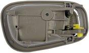 Dorman HELP! Interior Door Handle Front/Rear Left, Textured Gray, Boxed