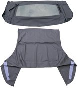 Dorman OE Solutions Convertible Top Black Sailcloth With Heated Defroster Glass (Power)
