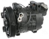 Factory Air by 4 Seasons Reman York-Diesel Kiki-Zexel-Seltec DCV14D Compressor w/ Clutch