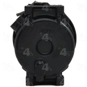 Factory Air by 4 Seasons Reman Nippondenso 10S17C Compressor w/ Clutch