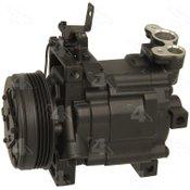 Factory Air by 4 Seasons Reman York-Diesel Kiki-Zexel-Seltec DKV10R Compressor w/ Clutch