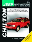 Chilton Total Car Care Jeep Wagoneer, Comanche & Cherokee, 84-01
