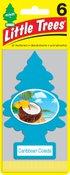 LITTLE TREES Caribbean Colada, 6 pack