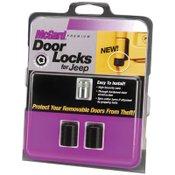 McGard 76058 Jeep Wrangler Door Lock Set for TJ & Unlimited LJ 2-Door/2-Lock Set