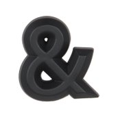 Pilot Automotive Black Matte Finish Letter AND