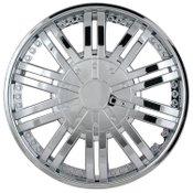 Pilot Automotive 15 Inch Chrome Venti 10 Spoke Wheel Cover
