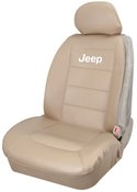 Plasticolor Jeep Tan Sideless Seat Cover