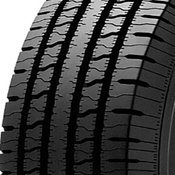 BF Goodrich Commercial T/A AS2 235/80R17 Tire Tread