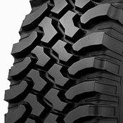 BF Goodrich Mud Terrain T/A KM2 335/55R22 Tire Tread