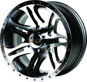 Proline 139 Black 15x7.0 Wheel