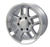 ProLine 185S Silver 18x8.5 Wheel