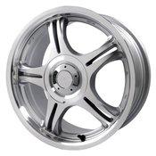 ProLine 333 Silver 17x7.0 Wheel