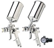 Vaper Dual Set-Up HVLP Spray Gun Kit