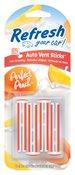 Refresh Your Car Vent Stick, Perfect Peach, 4 pk