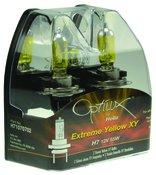 Hella Optilux H7 55W Extreme Yellow XY Bulbs