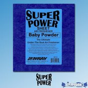 Jenray Products Inc. Super Power Full Sheet - Baby Powder The Ultimate Under-The-Seat Air Freshener