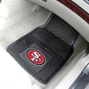 FANMATS NFL San Francisco 49ers Heavy Duty Floor Mat, 2-Piece