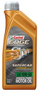 castrol 10w 60 edge supercar 1334557 pep boys. Black Bedroom Furniture Sets. Home Design Ideas