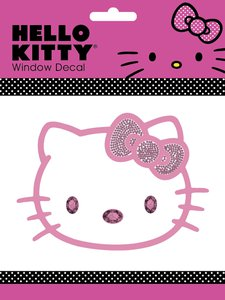 Hello Kitty Sanrio Hello Kitty Cling Bling Decal 581855 Pep Boys
