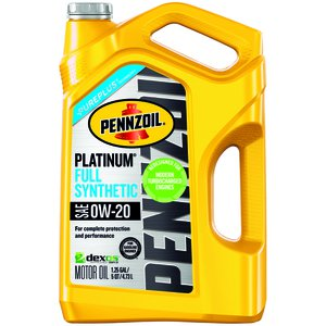 Pennzoil 0W-20 Full Synthetic 5-Quart Motor Oil