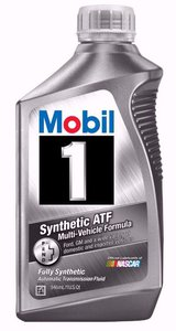 Automatic Transmission Fluid >> Mobil 1 Synthetic Automatic Transmission Fluid 1 Quart