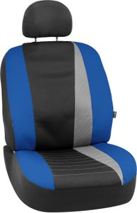 Bell Automotive Products Low Back Bucket Seat Cover Neoprene Blue