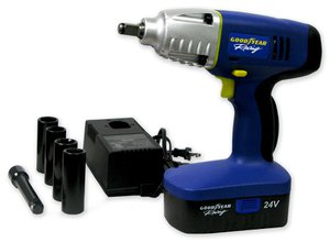 Video Goodyear 24v Cordless Impact Wrench