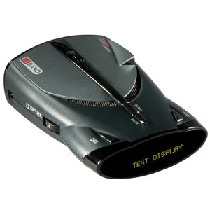 Cobra 14 Band Digital Radar/Laser Detector with DigiView Text Display,  Voice Alert