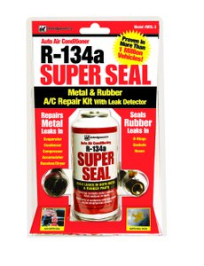 Interdynamics Super Seal R134a Metal and Rubber AC Repair Kit with Leak  Detection