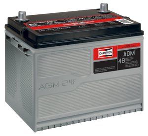 Pep Boys Discount >> Champion AGM Battery, Group Size 24F | 2071574 | Pep Boys