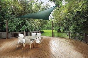 Shelterlogic 12x12 Sun Shade Sail Triangle Evergreen 20292072