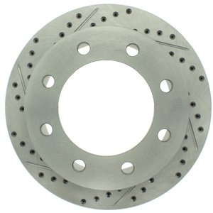 ProStop Performance Drilled and Slotted Rotor- Passenger Side