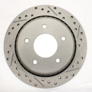 ProStop Performance Drilled and Slotted Rotor- Driver Side