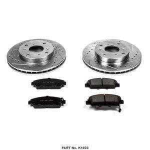 Power Stop Brakes >> Power Stop Evolution Sport 1 Click Brake Kit Front 20048489
