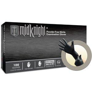 Pepboys Promo Code >> MidKnight Black Powder-FREE Nitrile Examination Gloves ...