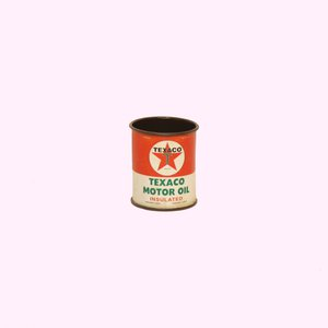 Open Road Brands Texaco Mini Tin Oil Can Replica 1060706 Pep Boys