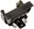Dorman HELP! Tailgate Handle, Paint to Match Black, Boxed