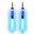 Pilot Electronics Electroluminscent Audio Response Light-up Auxiliary Cable, Blue