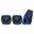 Pilot Automotive Voltage Pedal Kit, Blue 3 Piece, Manual