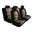 Pilot Automotive Camo Mesh Seat Cover, Black, 10-Piece