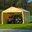 ShelterLogic 12 x 26 Canopy Enclosure Kit, Tan
