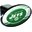 Trik Topz New York Jets Hitch Cover