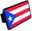 Trik Topz Puerto Rico Flag Hitch Cover