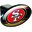 Trik Topz San Francisco  49ers Hitch Cover