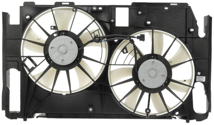Dorman Oe Solutions Dual Fan Assembly Without Controller 1145986 Pep Boys