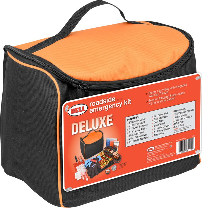Bell Deluxe Roadside Emergency Kit