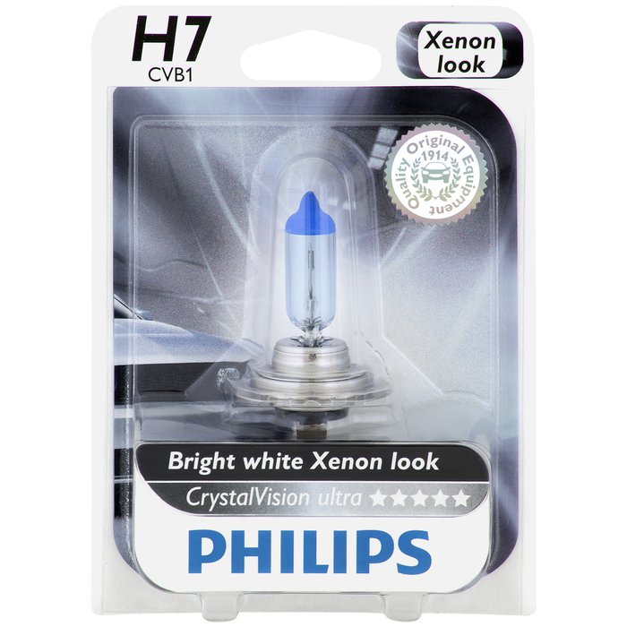 Philips H7 CrystalVision Ultra Upgrade Pack of 2