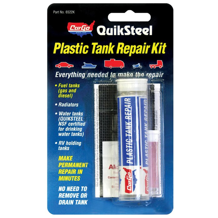 Blue Magic Quiksteel Plastic Tank Repair Kit 9885875 Pep Boys